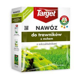 Moss-eliminating lawn fertilizer - Target - 1 kg
