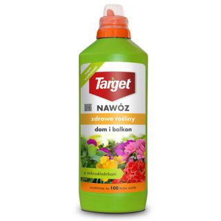 """Tekuté hnojivo pre domáce a balkónové rastliny - """"Zdrowe Rośliny"""" (Zdravé rastliny) - Target® - 500 ml -"""