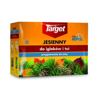 Autumn conifer fertilizer - increases frost resistance and winter hardiness of the conifers - Target® - 4 kg