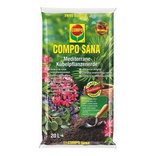 Suelo de primera para plantas mediterráneas - Compo® - 20 litros -