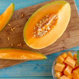 """Cantaloupe """"Melba"""" - orange, thick and aromatic flesh - 90 seeds"""
