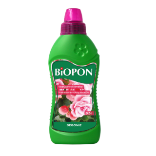 Begonia hnojivo - BIOPON® - 500 ml -