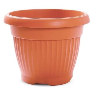 """Terra"" outdoor plant pot ø 13 cm - terracotta-coloured"