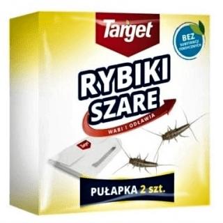Trampa para peces plateados - deshacerse de los pequeños insectos de la cocina y el baño - 2 piezas -