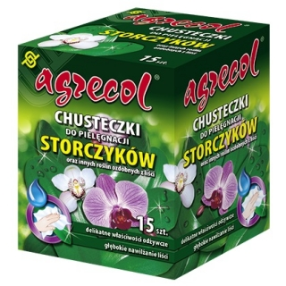 Orchid Care Wipe - suitable for plants with ornamental foliage - Agrecol®