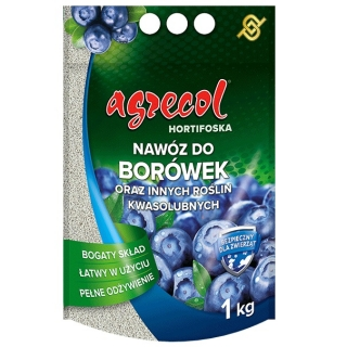 Blueberry Hortiphoska - an easy to use and efficient fertilizer - Agrecol® - 1 kg