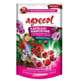 Fertilizer capsules for flowering plants - convenient and effective - Agrecol - 18 pcs