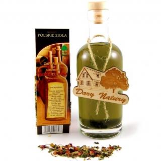 Hierbas polacas - Dzięgielówka (licor con sabor a angélica) - selección de hierbas, saborizante de licor - para 2 litros de alcohol -