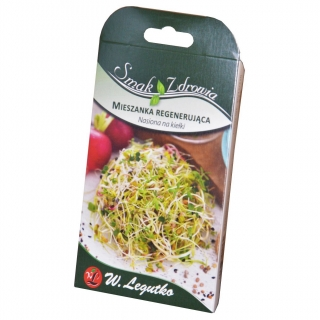 Sprouting seeds - rejuvenating mix + FREE small sprouter!