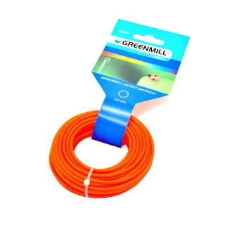 Mowing line for grass trimmers - 3 mm, 10 m - round
