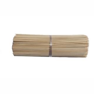 Batang buluh / kutub dirawat - coklat - 40 cm - 10 keping -