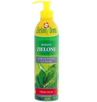 Hnojivo pre zelené rastliny s pumpičkou - Zielony Dom® - 300 ml -