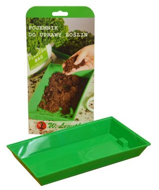 Microgreens - Orientale - exceptional taste and aroma, great addition to Asian dishes - 3-piece set with a growing container