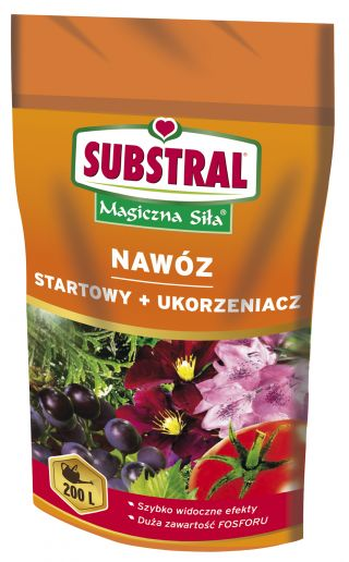 """Starter fertilizer with rooting agent """"Magiczna Siła"""" (Magical Power) with high phosphorus content - Substral® - 200 g"""