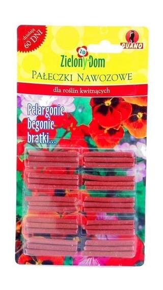 Fertilizer sticks for flowering plants (geranium, begonia and garden pansy) - Zielony Dom® - 30 pcs