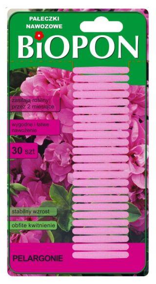 Палочки для удобрений для герани - стабильный рост и обильное цветение - 30 шт. -